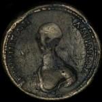 Scoperta moneta periodo greco raffigurante un Alieno