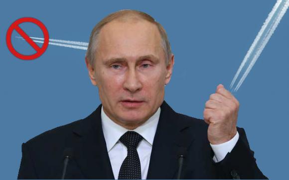 Putin basta scie chimiche