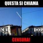 Facebook censura le scie chimiche nelle foto