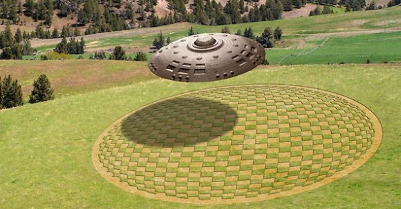 crop-circle-with-UFO