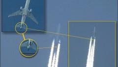 Dispositivi di aerosol montati sul piano di coda di velivoli commerciali