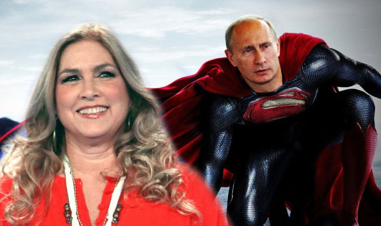 Romina Power e Putin