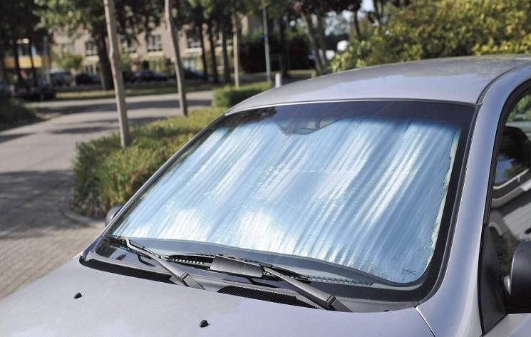 parasole auto alluminio