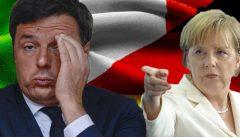 Italia – Germania: Renzi ha venduto la nostra vittoria alla Merkel