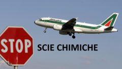 Dipendenti Alitalia: stop scie chimiche, facciamo fallire la compagnia per avere coscienze pulite