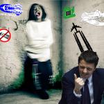 Renzi, è ufficiale: dal prossimo anno manicomio per chi crede nelle scie chimiche