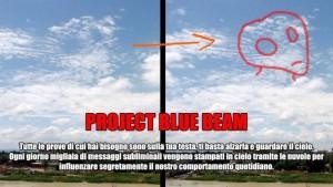 Ologramma nuvolare per normalizzare la presenza degli alieni