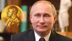 Putin, premio Nobel per la pace per lotta alle scie chimiche?